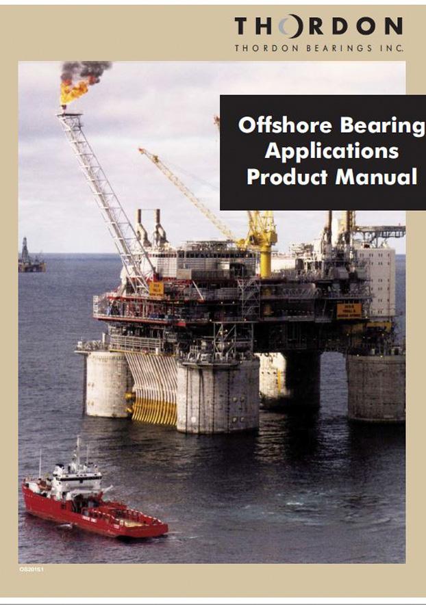 Manual en inglés sobre productos para offshore