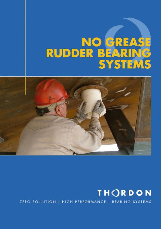 Manual de sistemas de cojinetes para timón en inglés