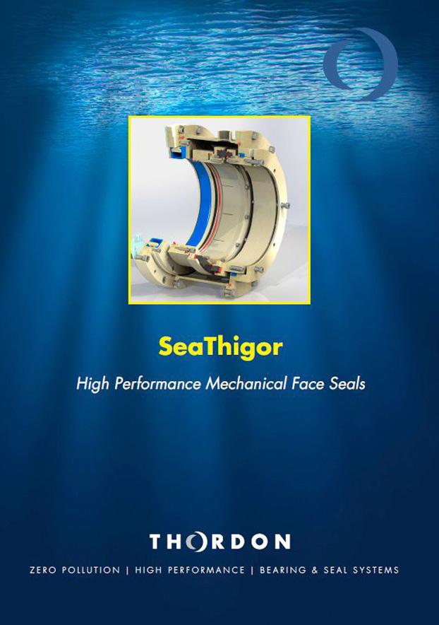 Folleto en inglés sobre SeaThigor