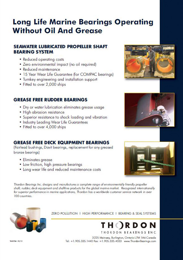 Marine Bearings Overview