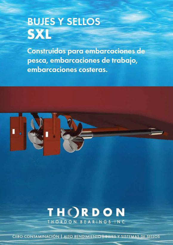 Catálogo en castellano sobre bujes y sellos SXL