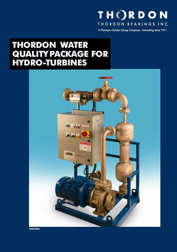 Thordon Water Quality Package for hydro-turbines brochure in English