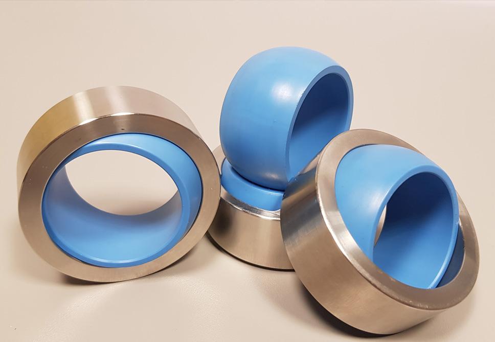 Cojinetes de materiales termoplásticos