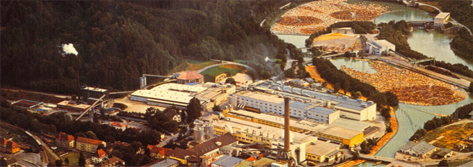 Vista de una fábrica