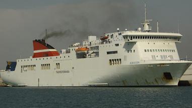 Embarcación MV Albayzin